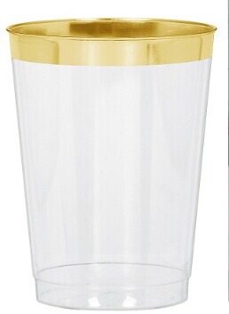 EASY PARTY Cream Gold Border Premium Tableware - Grand Wedding Package