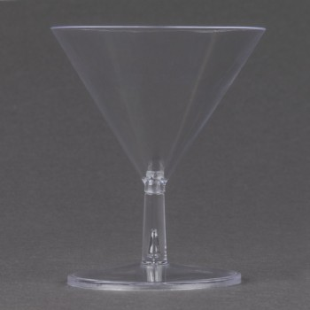 EaMaSy Party  2 oz. Tiny Tini 2-Piece Clear Plastic Glass