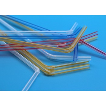 EaMaSy Party Jumbo 6mm  Flexible Straws