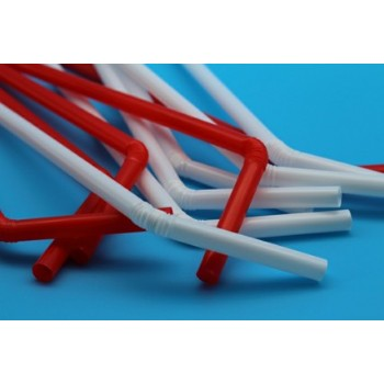 EaMaSy Party Jumbo 7mm  Flexible Straws